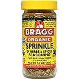 Bragg Organic Sprinkle Seasoning 1.50 Ounces (Pack of 2)