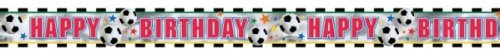 Football Birthday 12 foot Party Banner