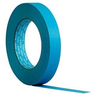 3MTM Scotch® Water Resistant Blue Masking Tape 3434 - (19 mm x 50 m) 4 x Rolls