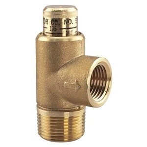 "Watts 0371271 530C 1/2"" Poppet Style Adjustable Relief Valve"