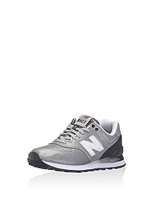 New Balance Zapatillas Wl574 (Gris / Negro)