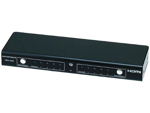 4X2 True Matrix High Speed Hdmi® Powered Switch W/ Remote W/ 3D And X.V.Colortm Support Product No: 6