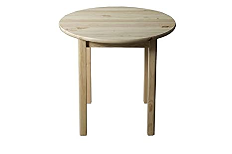 Massivholz Tisch 70x70 cm Kiefer, Farbe: Natur