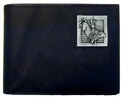 Bull Rider Leather Bi-fold Wallet
