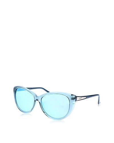 GUESS Gafas de Sol 7358 (57 mm) Azul Claro
