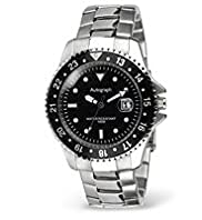 Autograph Round Face Diving Bezel Watch