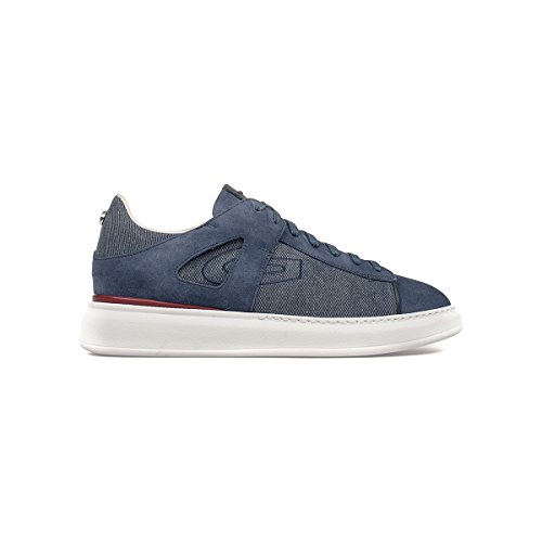Guardiani Sport sneaker uomo stringata blu navy SJ74 (44)