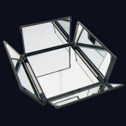 アイコスメ専用ミラー ブラック中 5面鏡