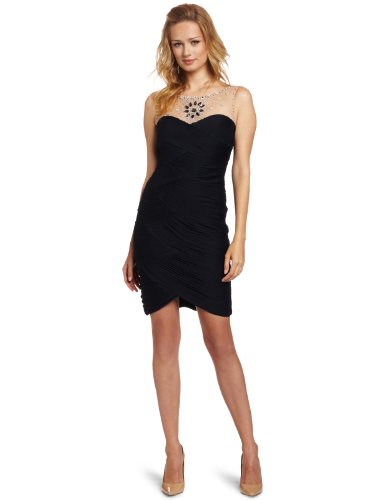 Adrianna Papell 91836991 Sleeveless Women's Dress Ink Size 14