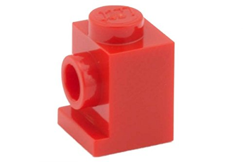 Lego Parts: Brick, Modified 1 X 1 With Headlight (Red)