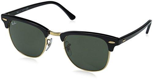 ray-ban-clubmaster-ebony-arista-frame-crystal-green-lenses-49mm-non-polarized
