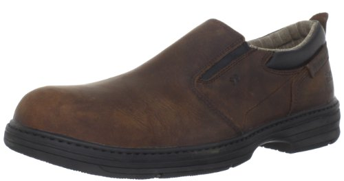 Caterpillar Men's Conclude Steel Toe Work Shoe,Dark Brown,9 W US (Caterpillar Boots For Kids compare prices)