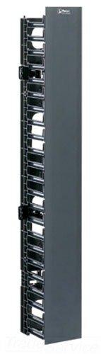Panduit Wmpvf22E Vertical Cable Manager, Black