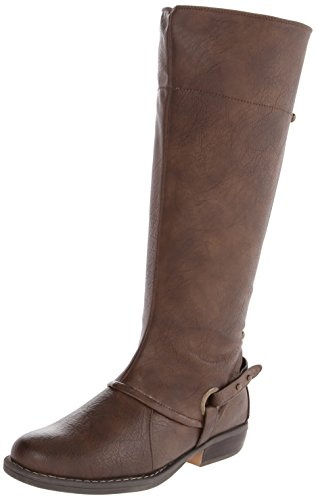 Baretraps Women'S Breslin Riding Boot,Dark Brown,7.5 M Us
