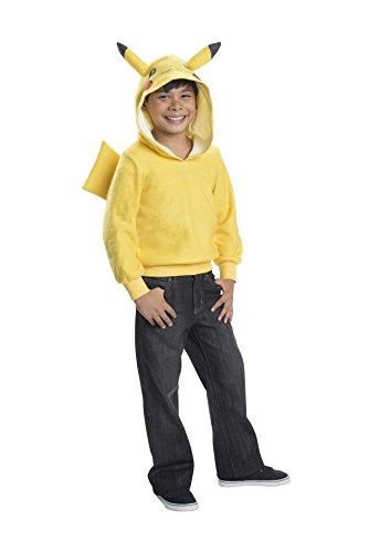 Rubie's Costume Pokemon Pikachu Child Novelty Hoodie Costume, Medium