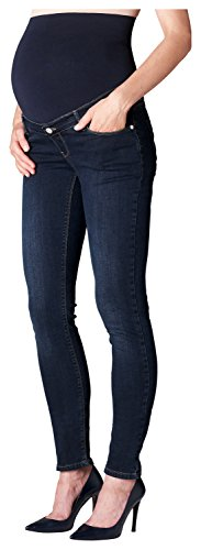 ESPRIT Maternity Pants Denim Otb Slim M8C122, Jeans Maternità Donna, Blau (Blue (Darkwash 910) 910), W30/L32