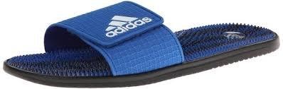Adidas Mens Evossage M Slide #M17423 (Blu/Cwhit/Cblk) (10) front-826275