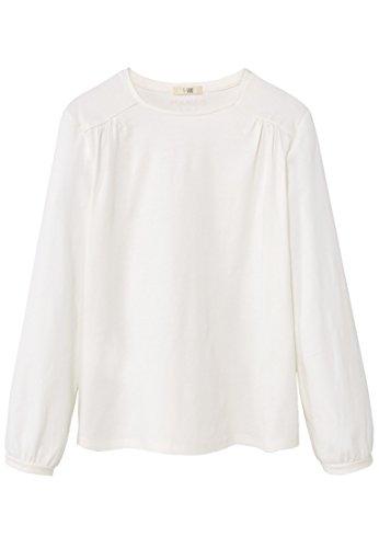 mango-kids-t-shirt-mit-t-shirts-armelumschlag-size11-12-jahre-colorecru