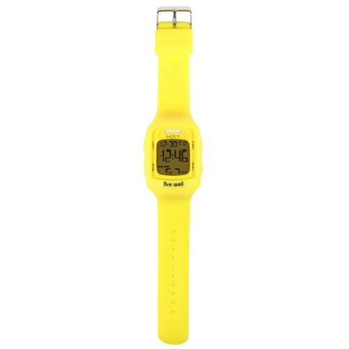 I-Watch IWT01 Unisex All-in-One Smart Watch with Pedometer, Yellow