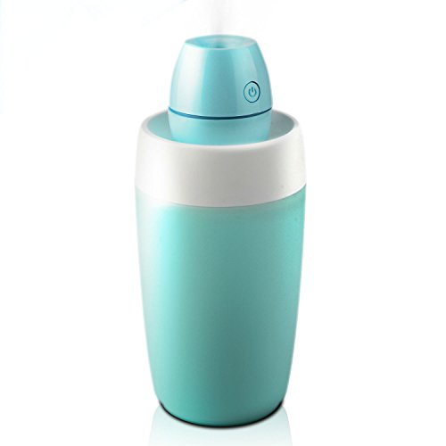 Motoraux Portable Mini Cool Mist Humidifier/Ultrasonic Air desktop Personal Humidifier with LED, Small Perfect for Travel, Home, Office or Car humidifiers with Water Bottle (Warm Mist Humidifier Small Room compare prices)