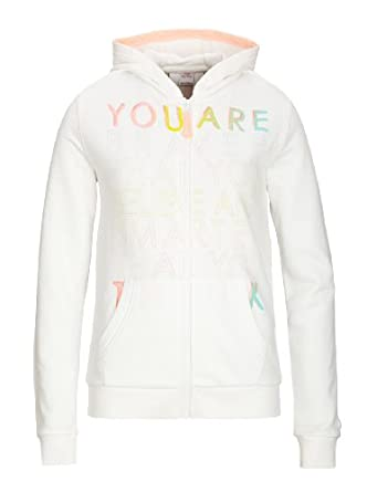 S.Oliver - Sweat-Shirt Fille - Ecru - Elfenbein (White) - FR : 15 Ans (Taille Fabricant : XL) (Brand size : XL)