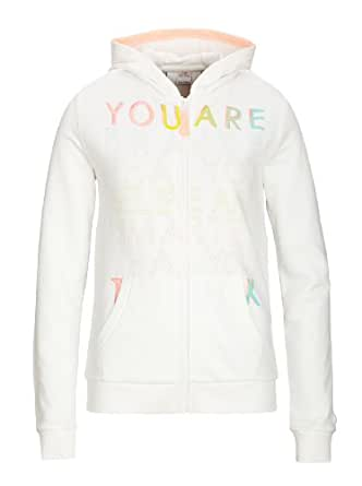 S.Oliver - Sweat-Shirt Fille - Ecru - Elfenbein (White) - FR : 15 Ans (Taille Fabricant : XL) (Brand size : XL)
