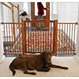 Richell One-Touch Pet Gate Brown-color