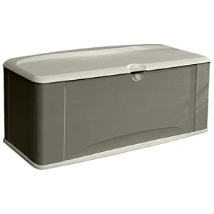 Click to read our review of Rubbermaid Extra Large Deck Box with Seat