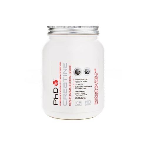 PhD Nutrional Creatine Monohydrate Powder 550g