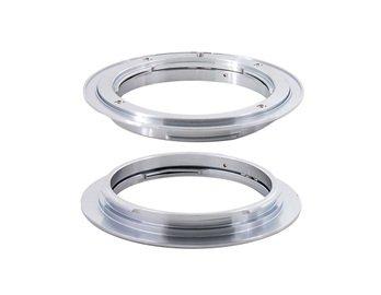 Adapter For Nikon Al Lens To Canon Eos (Silver)