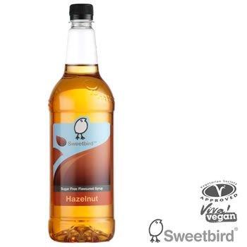Sweetbird Hazelnut Coffee Syrup Sugarfree