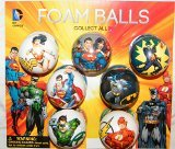 Batman, Superman, Justice League DC Superhero Figure Soft Foam Ball Toys Collection of 12 - 1