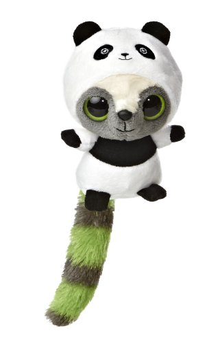 "Aurora World YooHoo & Friends Wanna Be Panda Plush, 5"" Tall"