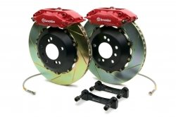 Brembo 2C2.8002A2 GT Big Brake Kit Rear Slotted BMW 5-Series 97-03