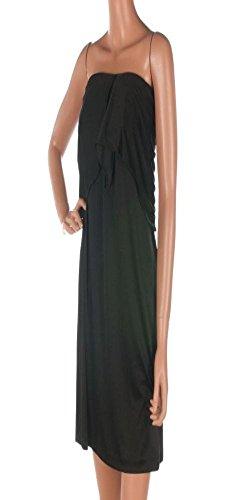 halston-heritage-dress-black-strapless-cocktail-size-uk-12-a77