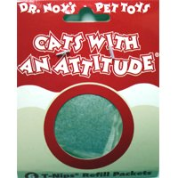 KONG Cats with an Attitude Cat Toy, Catnip Refills, Cat Toy, 6/pack