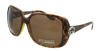 Gucci GG3166/S Sunglasses-0791 Havana (SP Bronze Polarized Lens)-59mm