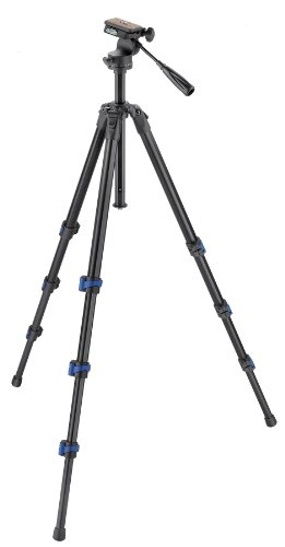 Hahnel Triad 60 Lite Professional Aluminium Alloy 4-Section Tripod with 3 Way Fluid-Damped Pan Head and Free Carrying... Black Friday & Cyber Monday 2014
