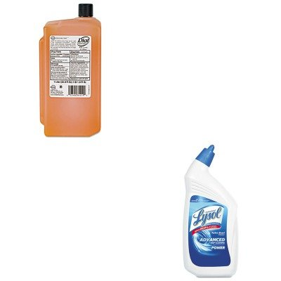 KITDPR84019RAC74278CT - Value Kit - Dial Gold Antimicrobial Soap (DPR84019) and Professional LYSOL Brand Disinfectant Toilet Bowl Cleaner (RAC74278CT)