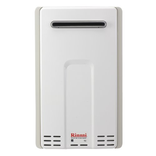 Rinnai Rv65Eng Outdoor Natural Gas 6.6 Gpm Tankless Water Heater From The Value, Natural Gas