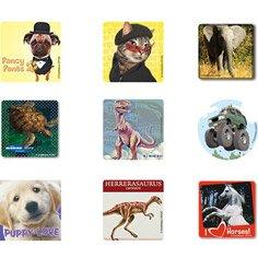 950 Stickers - 10 unit Sticker Sampler