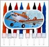 Disney's World of Planes Candles (8 Pack) - 1