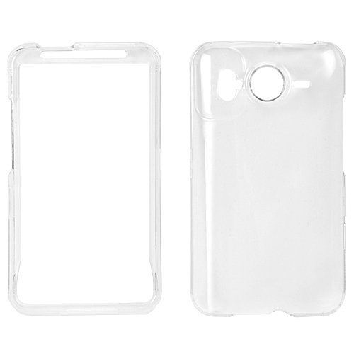 GTMax Crystal Clear Snap On Cover Case - Clear for HTC Desire HD / Inspire 4G
