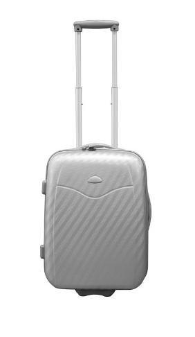 Hartschalen Koffer 50cm Silber