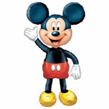 Mickey Mouse Airwalker [Juguete]