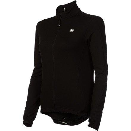 Giordana Fusion Women'S Long Sleeve Jersey Black/Black, Xs