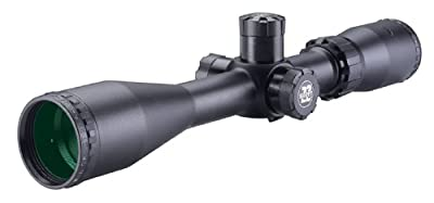 BSA 6-18X40 Sweet 22 Rifle Scope with Side Parallax Adjustment and Multi-Grain Turret by Bsa