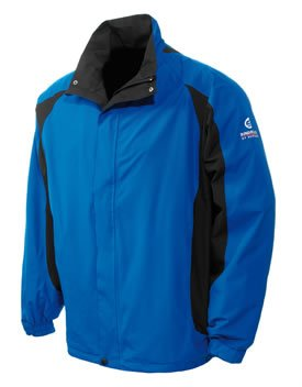 Sunderland Player Waterproof Jacket Skydiver Blue (X-Large)