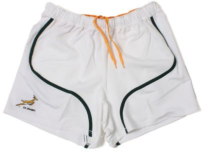 South Africa 2011/13 Players Home Rugby Shorts - size 30