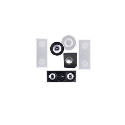 Premier Acoustic Pa-1000 5.1 In Wall Speaker System